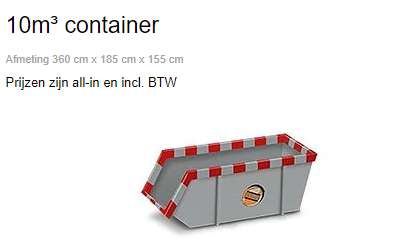 container Cuijk